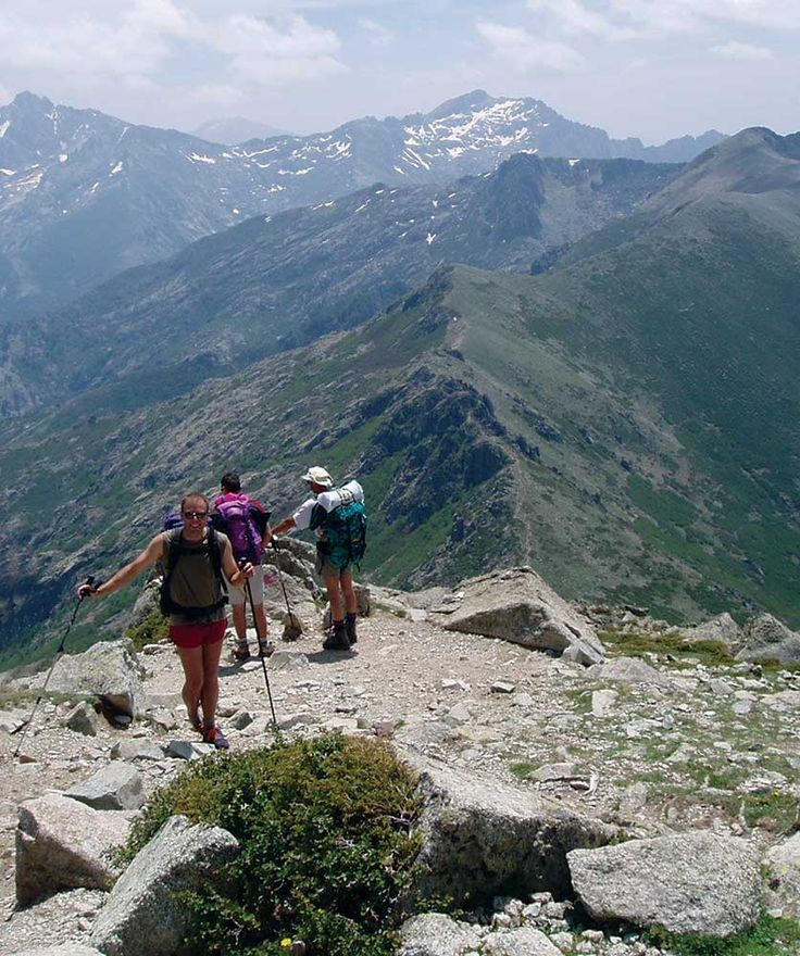 GR20 Trek – Complete route with Monte Cinto. The GR20 fits perfectly into a 2-week holiday. It weaves around granite spires, forested valleys, rocky cirques and dramatic ridges.