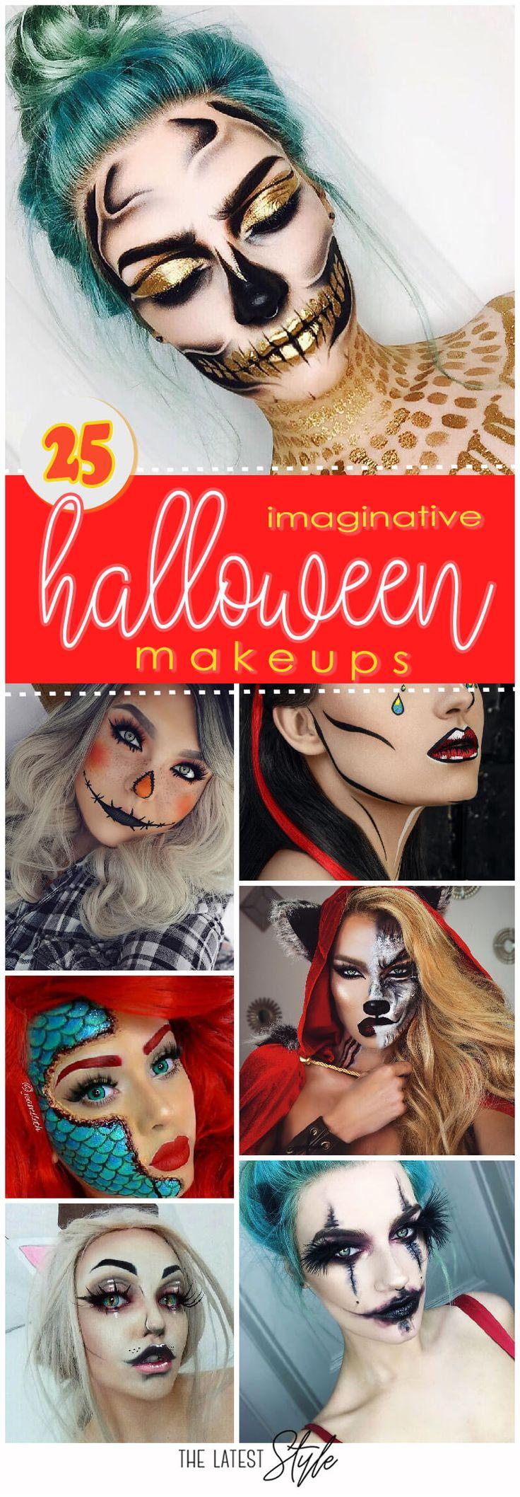 25 Imaginative Halloween Makeup Inspirations From The Instagram