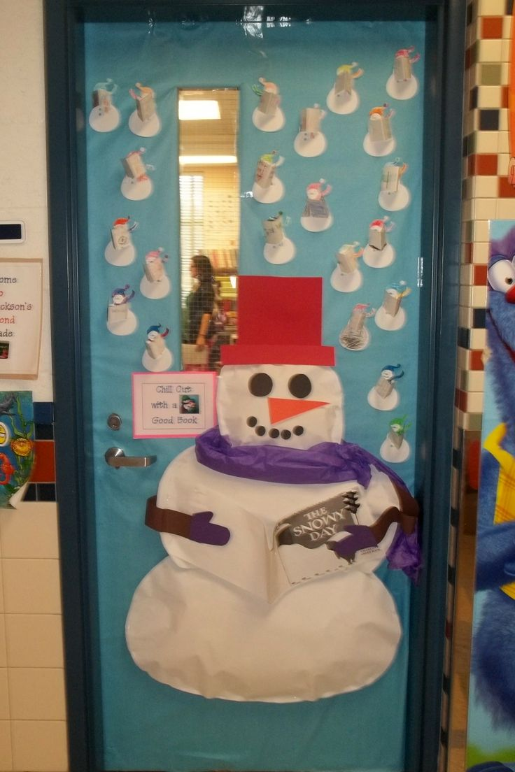 23 Best Images About School Winter Doors On Pinterest