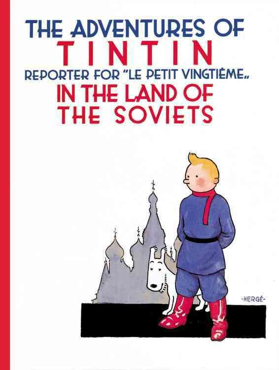 The classic graphic novel. The first of Tintin's black-and-white adventures. Sent on assignment to the Soviet Union, Tintin boards a train. . . but after an explosion, Tintin is blamed for the bombing