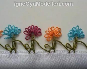 Kır Çiçekleri Modeli Yapımı