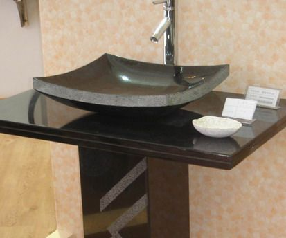 Surface Mount Sink : Surface Mounted Granite Sink Bathroom Fixtures Pinterest