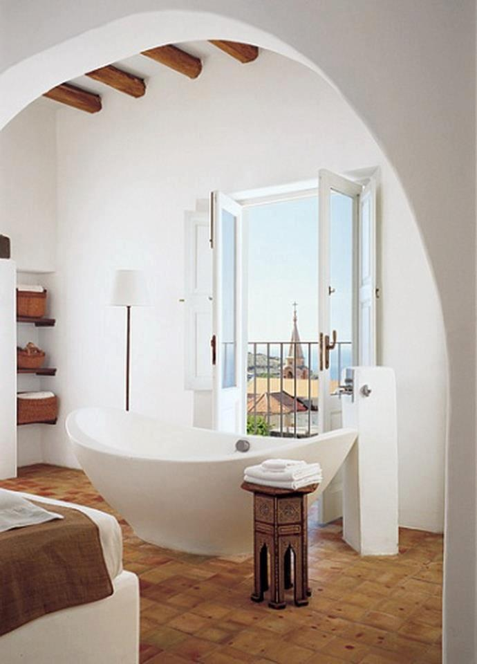 Bathroom In Spanish best 25+ orange mediterranean style bathrooms ideas only on