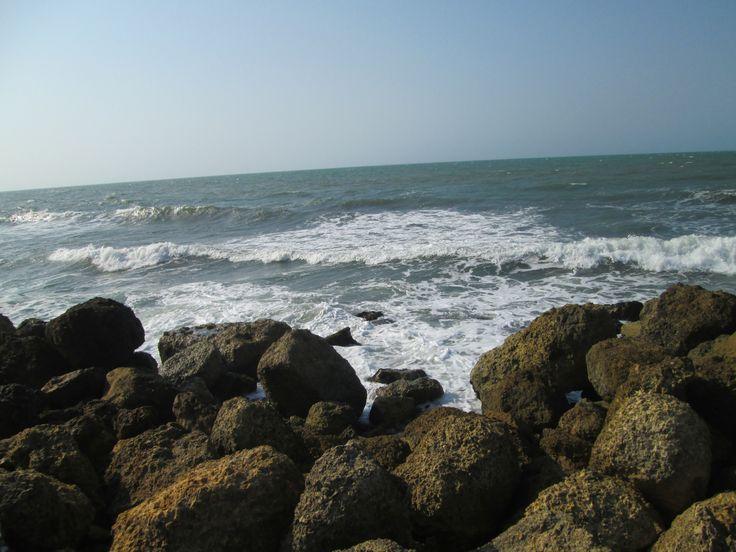 Estar frente al mar constituye una eficiente y relajante terapia.