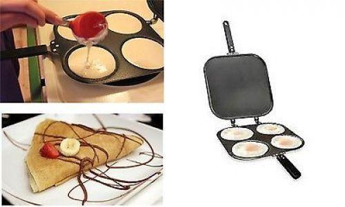 Non Stick Pancake Pan Flip Perfect Pancake Maker Breakfast Omelette Eggs Flipjac #NonStickPancake
