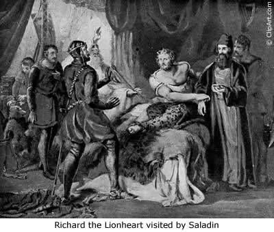 saladin and richard the lionheart relationship advice