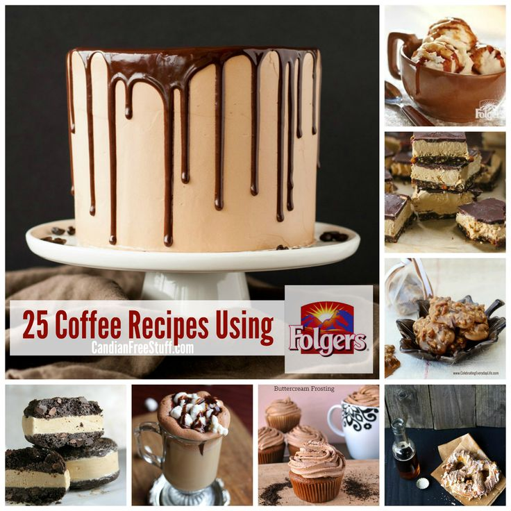 Awesome #coffee recipes to try out with using #Folgers  # Coffee flavored everything mostly desserts and drinks