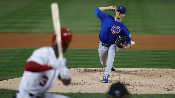 Mr. Postseason delivers: Kyle Hendricks outdoes Stephen Strasburg to give Cubs series lead