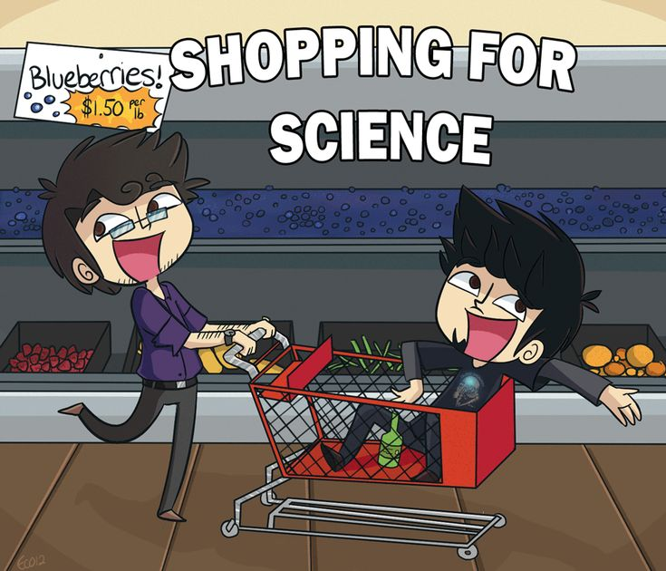 Science Bros Ask 19 by ecokitty