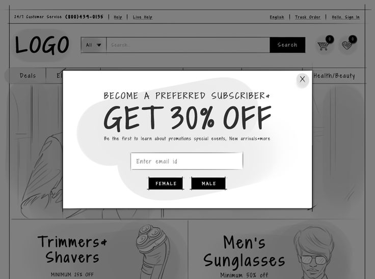 Use #popup to welcome your new visitors and offer them the right incentive such…