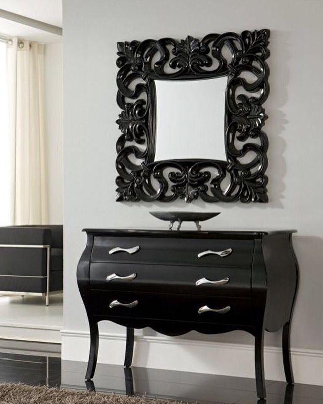 Speil modell FRIDA kommode modell CLASSIC. www.mirame.no #speil #stue #gang #veggspeil #kommode #interior #interiør #nettbutikk #vår #lys #lykke #hus #hjem #innredning #sol #frida #classic