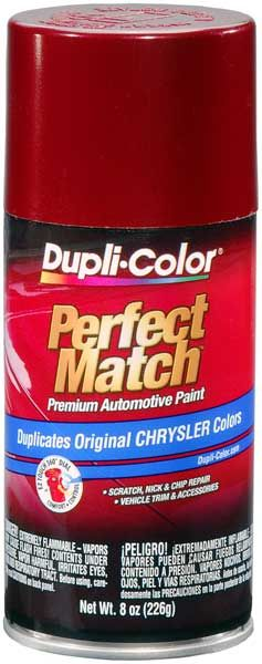 Chrysler - Dodge - Jeep Metallic Claret Red Auto Spray Paint - PTE 1994-1997: Dupli-Colors Metallic Claret Red Auto Touch-Up Spray Paint…