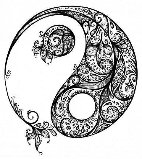 pinkaren woods on yin yang with images  yin yang