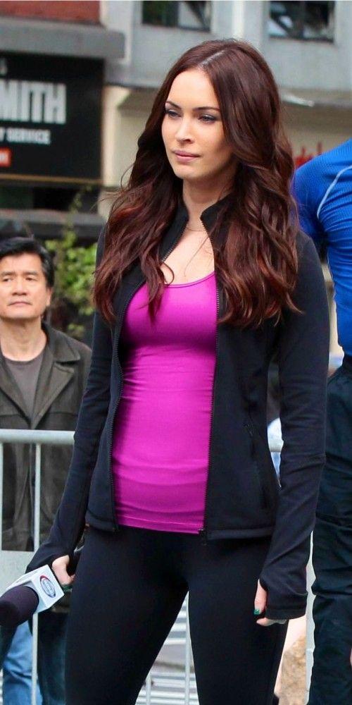 Megan Fox Dark Hair Color