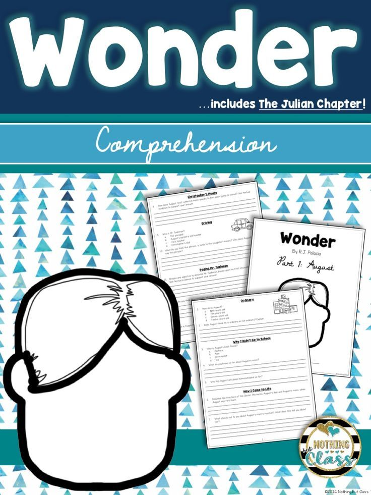 Wonder And The Julian Chapter Comprehension Questions Distance