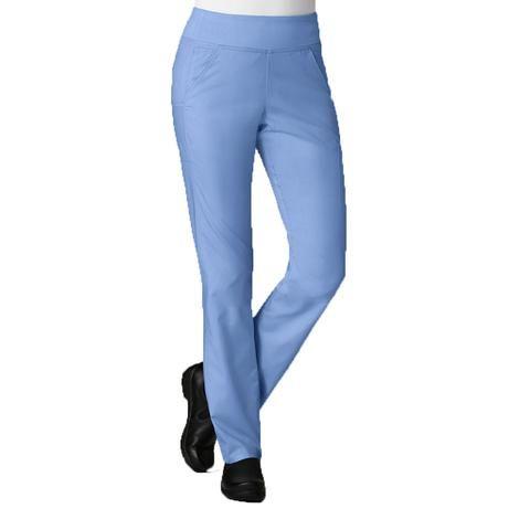 Maevn 7338 Ceil blue scrub pants that are suitable as nursing scrubs, dental uniforms & care assistant uniforms.