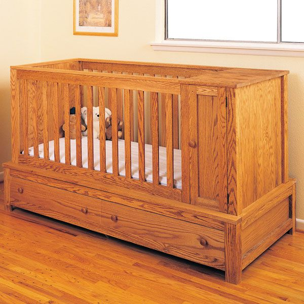 Wood Baby Crib Plans Free Woodworking Plans | woodworking ...