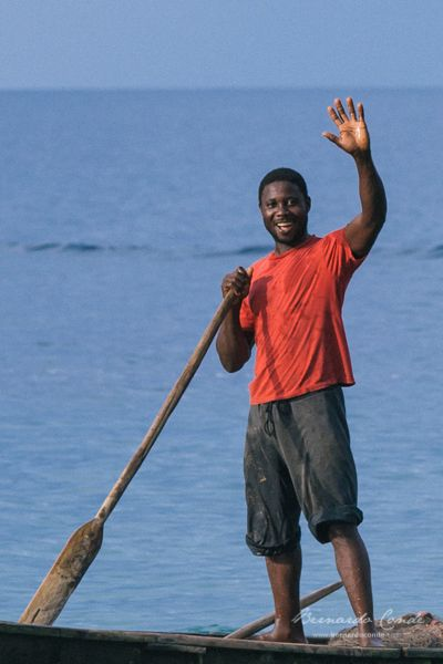 Life, people, landscapes of São Tomé e Príncipe islands - Africa.
