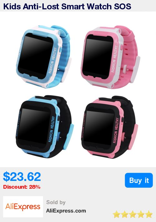 Kids Anti-Lost Smart Watch SOS Phone Call GPS Tracker Bluetooth 3.0 Alarm Clock Dial Call Children LBS Vibration Smartwatch * Pub Date: 19:05 Jul 10 2017