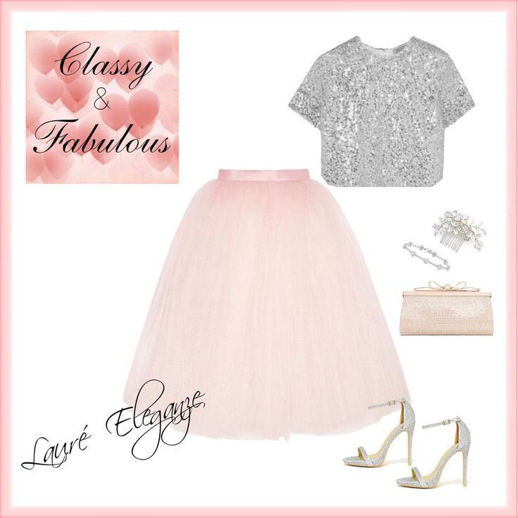 Pink Tulle & Sequins Top - Available from Lauré Eleganze
