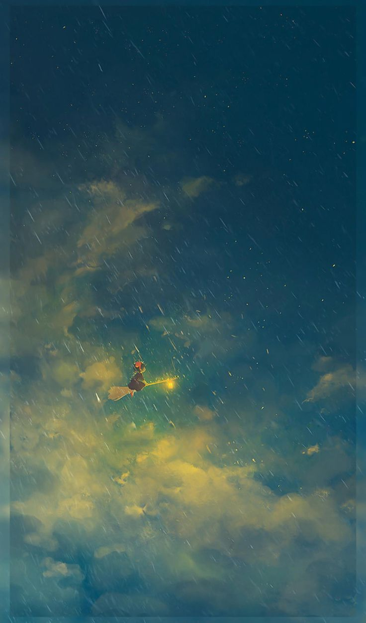 Nice Studio Ghibli mobile wallpapers without text 5