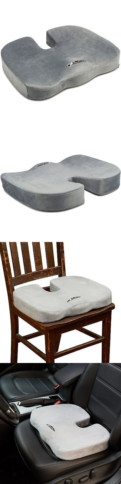 Massage Pillows and Bolsters: Coccyx Seat Cushion Back Support Tailbone And Sciatica Pain Relief Washable Cover -> BUY IT NOW ONLY: $49.47 on eBay!