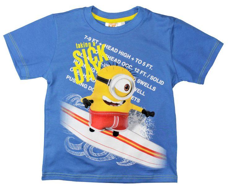 Minionkowy T-shirt w Smyku