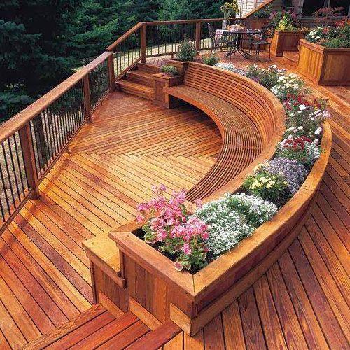 find this pin and more on decoracion en exteriores by jardineras de madera ip para