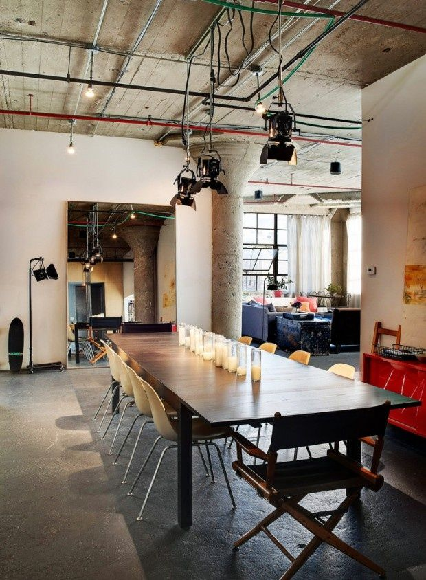 When designing a loft apartment the main