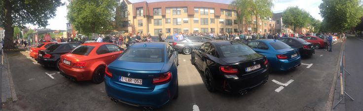 M line-up at our local cars&coffee meeting #BMW #cars #M3 #car #M4 #auto