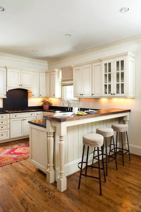 kitchen cabinets u shaped with bar | U-shaped Kitchen with Peninsula