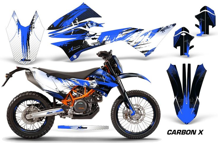 KTM Adventurer 690 Enduro/ Enduro R Graphics Kits - Over 85 Designs to Choose From