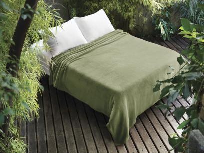 Manta Microfibra Solteiro Jolitex - Dyuri Verde 1 Peça com as melhores condições você encontra no Magazine Gatapreta. Confira!