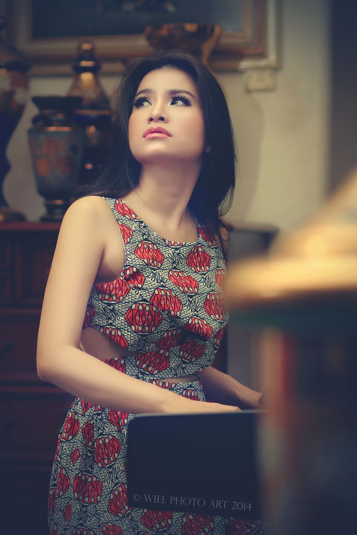 Model Maria Vania  Lokasi El Noah Studio  By Wiel Photography