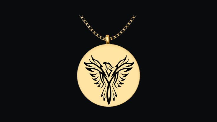 * Love this Phoenix Round Pendant Necklace? *We do too. :)It's laser engraved on very high quality metals so that it has an incredible shine that you will love every time that you look at it.Get yours today.This is not sold in stores. This is an exclusive limited edition engraving only sold here.Guaranteed safe checkout:VISA   MASTERCARD   PAYPAL   AMEX   DISCOVERWe Ship WorldwideClick or Tap theBUYIT NOWbutton To Order Yours!