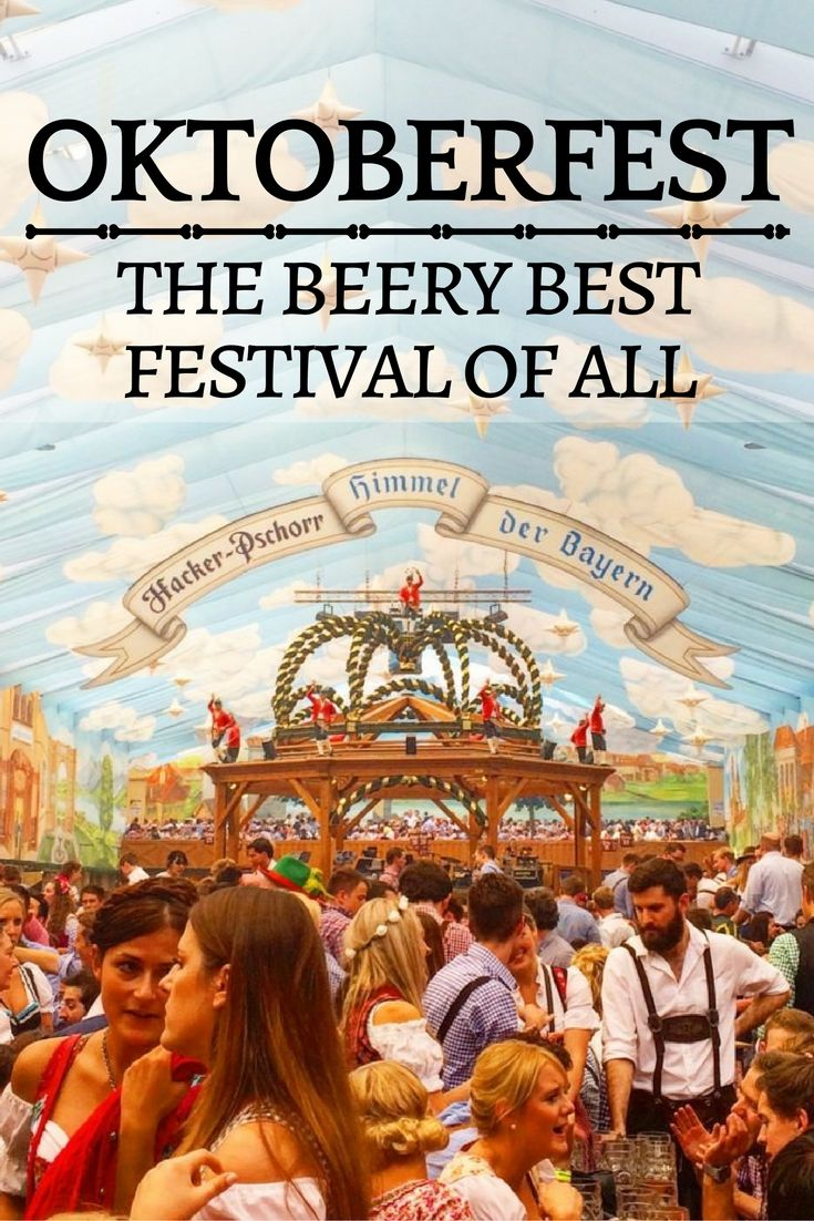 Oktoberfest Beer Festival in Munich, Germany -one of the best festival's in the world, you need to check off your bucket list!