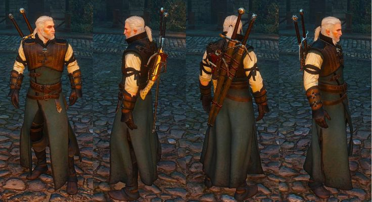 Wolven Build Witcher