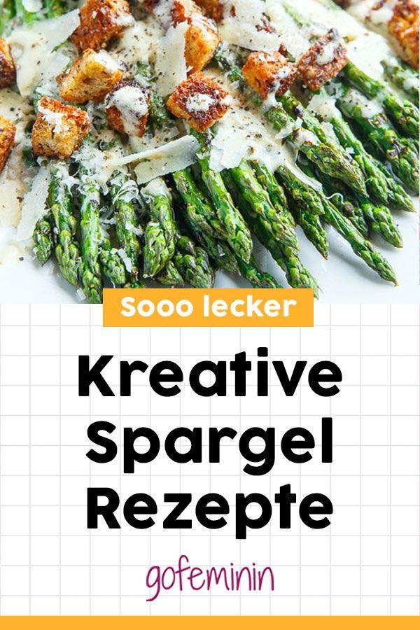 Spargel mal anders! Diese kreativen Spargelrezepte sind der Hammer! #spargel #spargelrezepte #spargelsalat #spargelofen #spargelvegetarisch