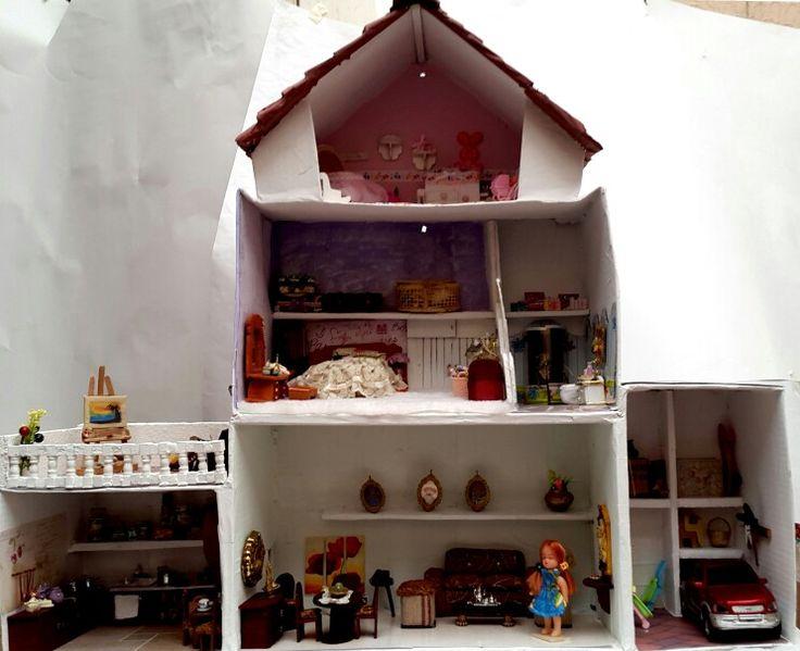 Vista general casa de muñecas