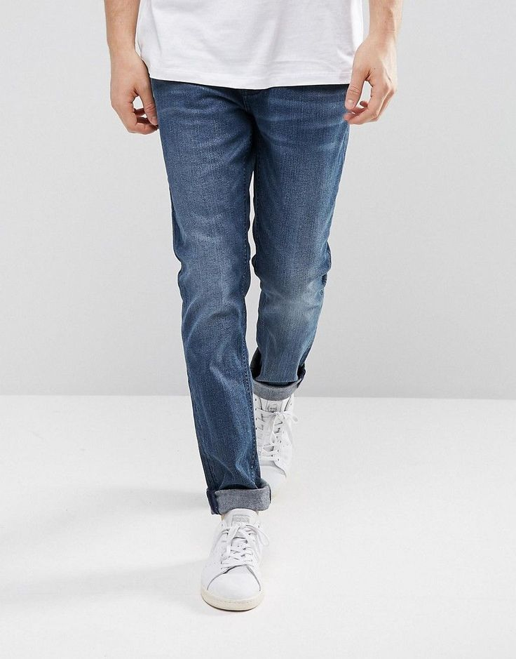 Cheap Monday Sonic Slim Jeans General Worn - Blue