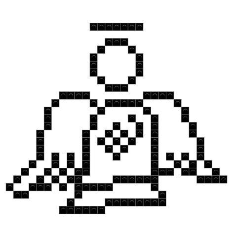 Be An Angel Day Pixel Art Angel Art