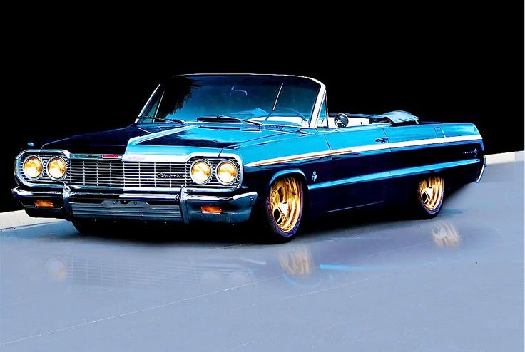 1964 Impala SS. Maintenance of old vehicles: the material for new cogs/casters/gears could be cast polyamide which I (Cast polyamide) can produce