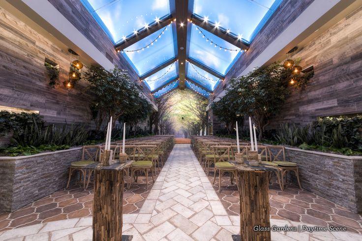 Indoor Garden Wedding Venue ideal for woodland weddings | fairytale weddings in Las Vegas