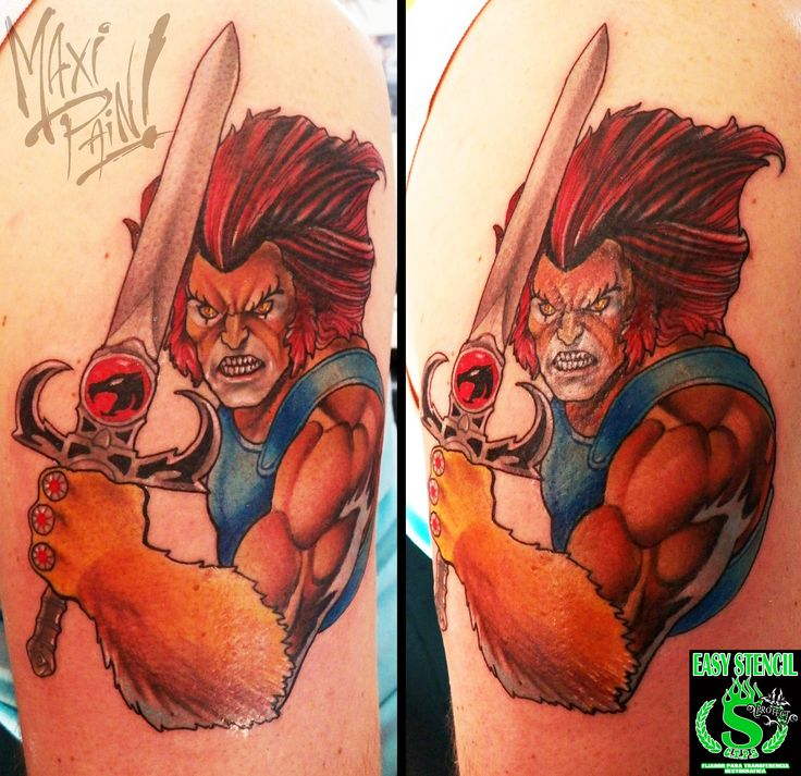 tattoo by Maxi Pain! thundercats, lion o, leono. | Tattos