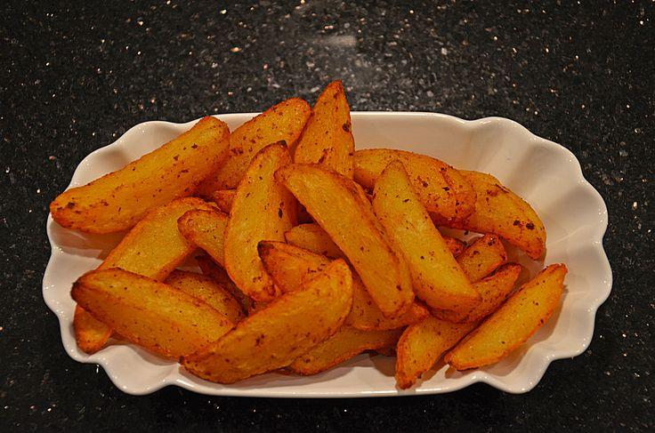 Kartoffelspalten mediterran, aus der Actifry oder aus dem Backofen 1