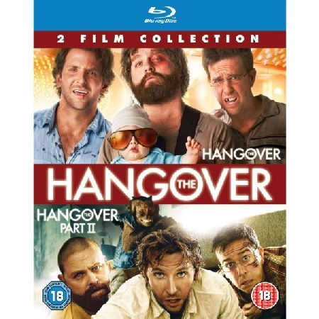 The Hangover/The Hangover Part II Double Pack Please note this is a region B Blu-Ray and will require a region B or region free Blu-Ray player in order to play Includes The Hangover The Hangover Part 2 Age Rating 18 (Barcode EAN=5051892116831) http://www.MightGet.com/march-2017-2/the-hangover-the-hangover-part-ii-double-pack.asp