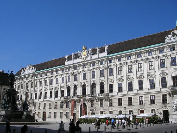 Reichskanzleitrakt (Imperial Chancellory Wing) Hofburg Vienna June 2006 415 - Hofburg Palace - Wikipedia, the free encyclopedia