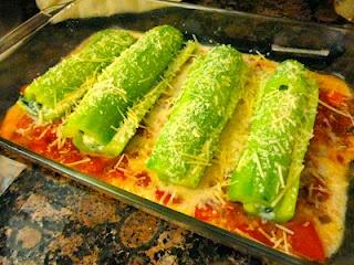 Zucchini Cannelloni: Idea, Food, Dinner Recipes, Cannelloni Recipes, Veggie, Favorite Recipes, Vegetarian Recipes