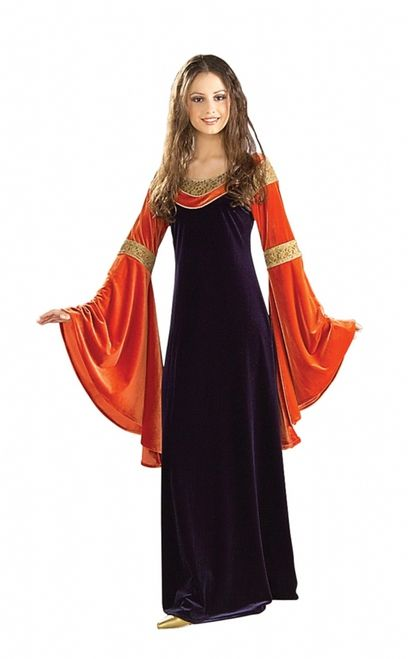 lord of the rings red arwen costume gown burnt orange