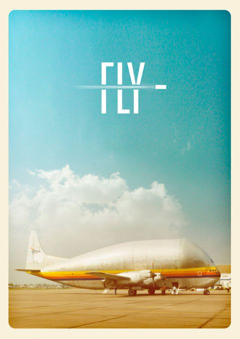 //\\ FLY poster.Buckets Lists, Logo Design, Fly, Colors, Posters Design, Graphics Design, Planes, Vintage Inspiration, Design Posters